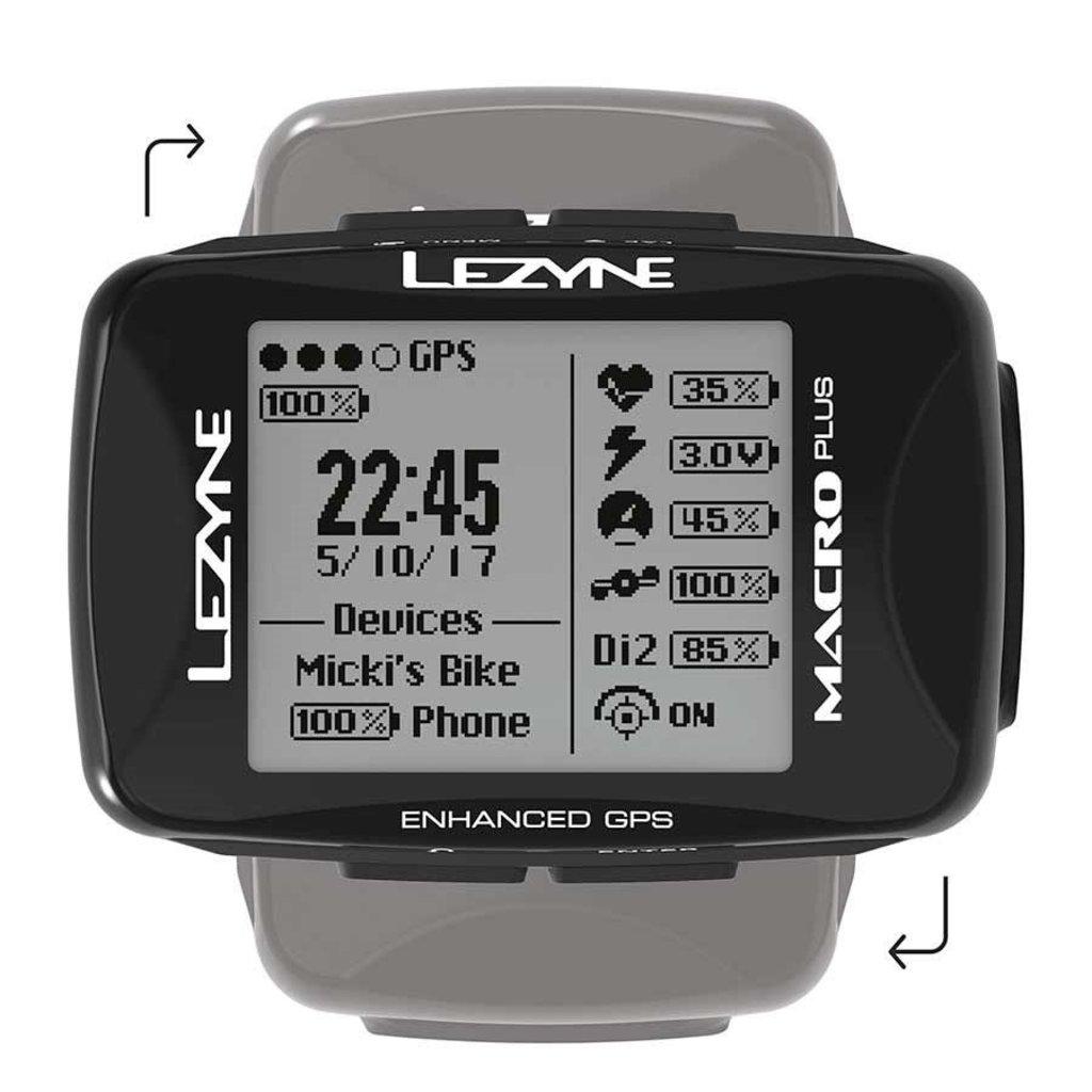 Lezyne Lezyne, Macro Plus GPS