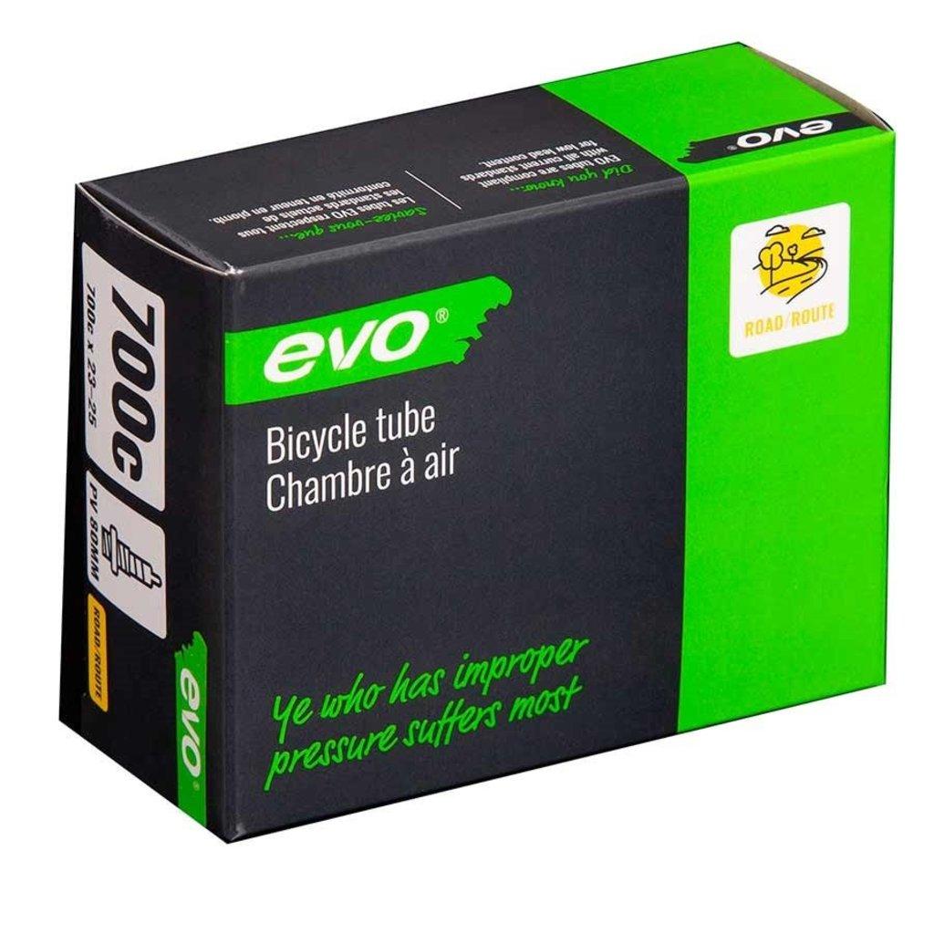Evo EVO, Presta, Tube, Length: 80mm, 700C, 23-25C