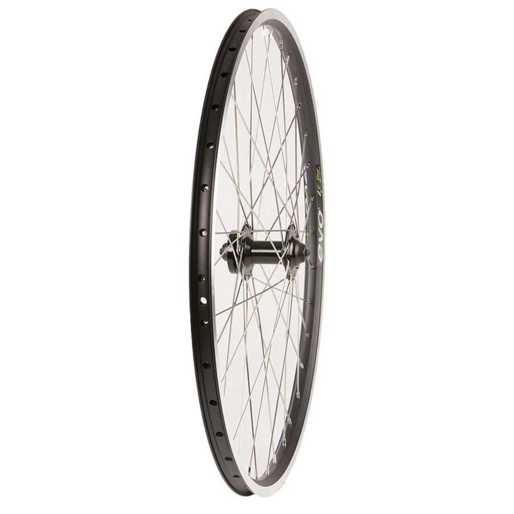 Evo Wheel Shop, Evo Tour 19 Black/ Formula DC-20, Wheel, Front, 26'' / 559, Holes: 36, QR, 100mm, Rim and Disc IS 6-bolt
