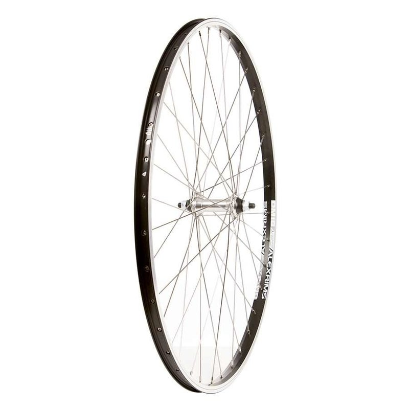AlexRims 700 Front - WShop/Alex DM18 - Formula FM-21-QR Hub - 16mm Rim Depth - 36 Spokes - Black/Silver