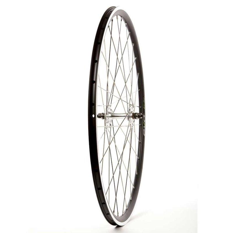 Evo Wheel Shop, Evo Tour 16 Black/ Formula TH-50, Wheel, Front, 700C / 622, Holes: 32, Bolt-on, 100mm, Rim