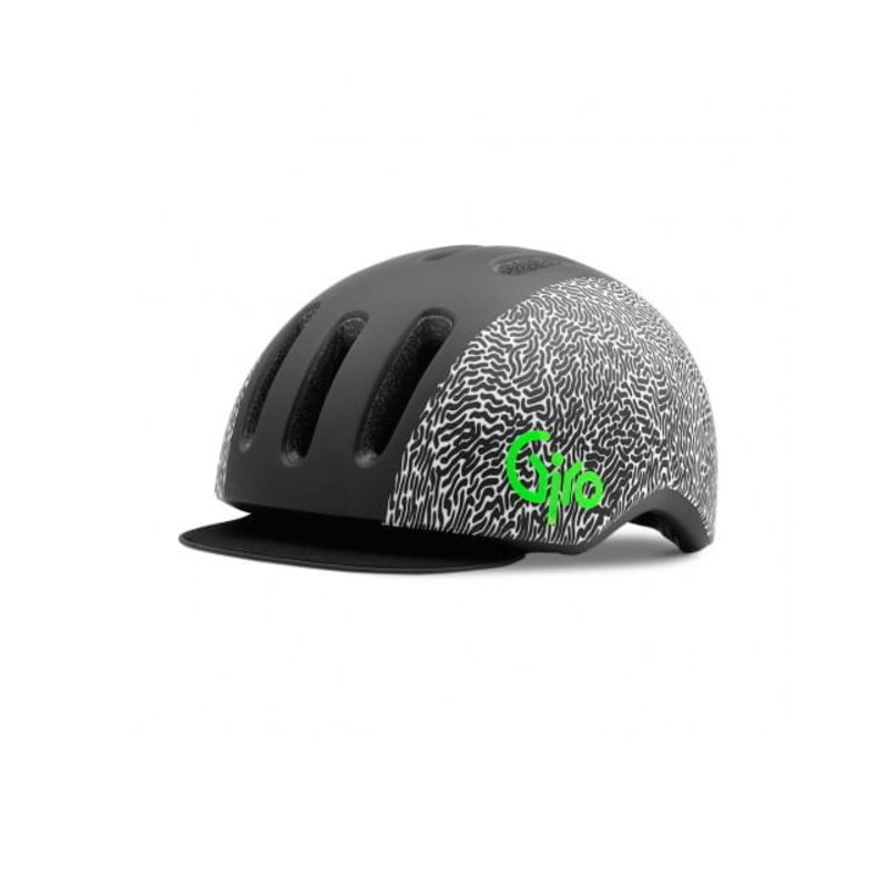 Giro Helmet - Giro Reverb - Adult M (55-59cm) - B&W Squiggles