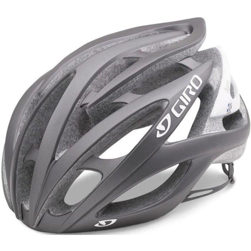 Giro Helmet - Womens - Giro Sonnet - M (55-59cm) - Titanium with Checkers
