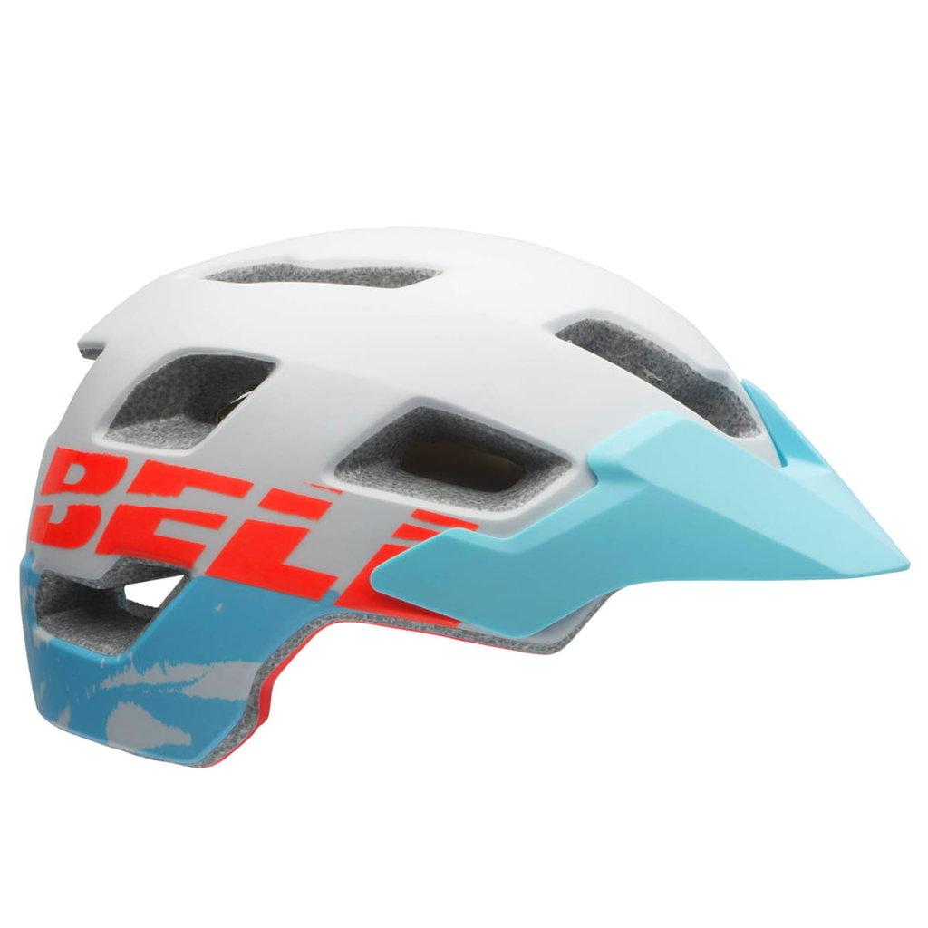 Bell Helmet - Womens - Bell (JoyRide) Rush Mips - M (55-59cm) - White with Baby Blue Visor