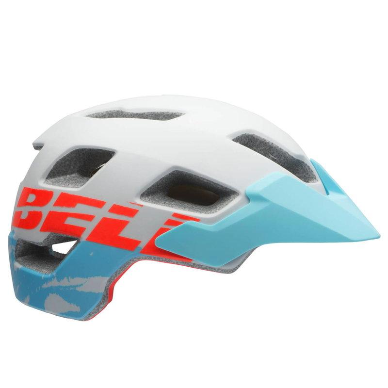 Bell Casque - Femmes - Bell (JoyRide) Rush Mips - M (55-59cm) - Blanc avec bleu visière