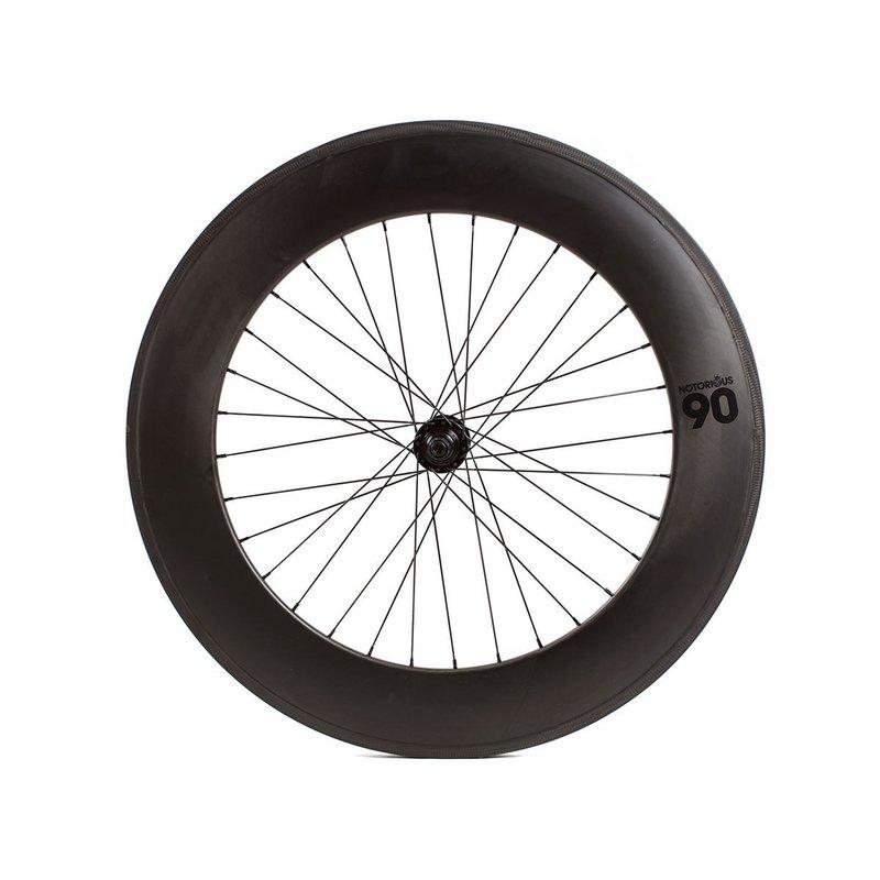 700 Rear Fixed - Carbon 90mm - Formula Hub Black - 32 Spokes - Black