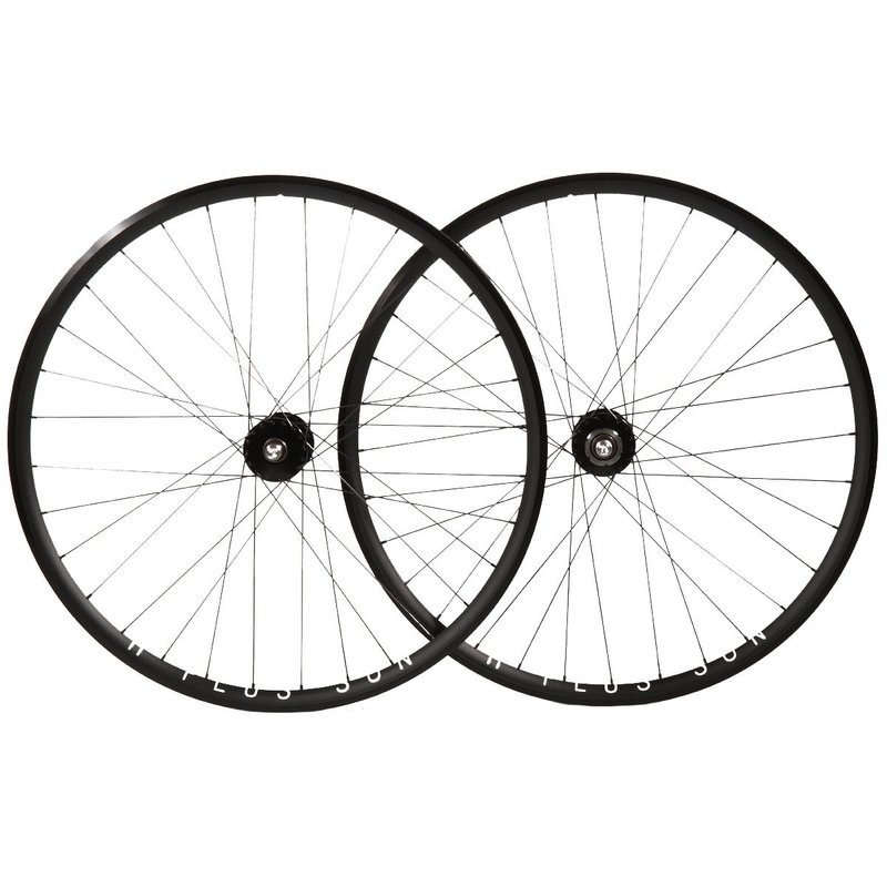 700 Set Fixed - H+Son Archetype - Novatec Hubs - 36/36 Spokes - Silver