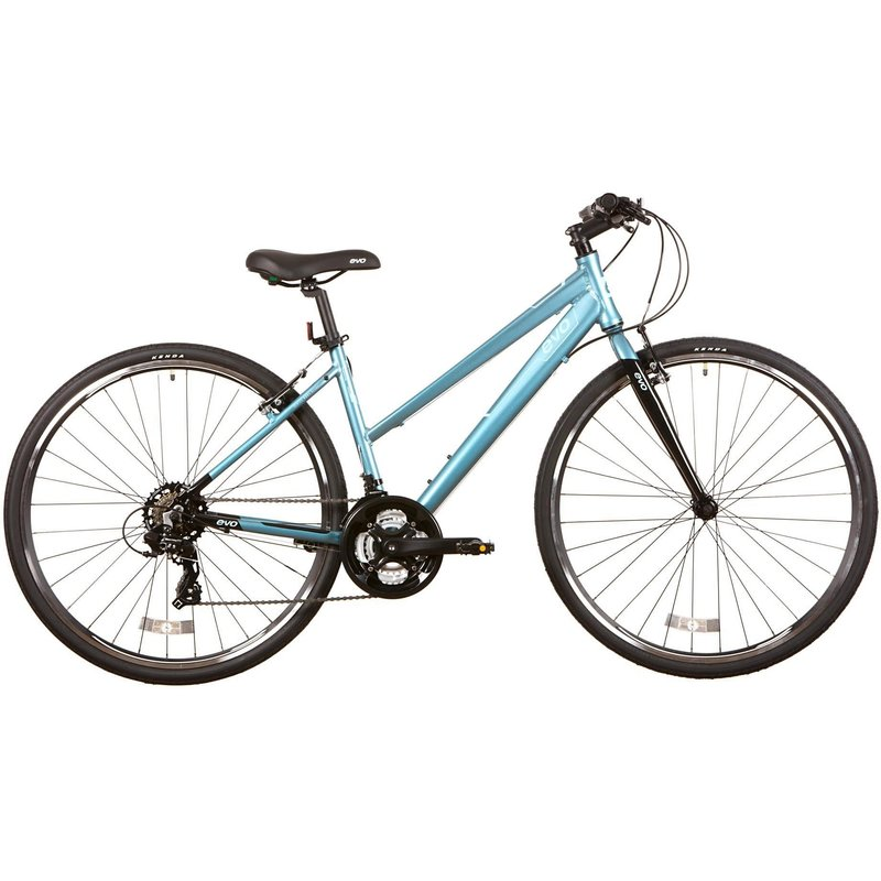 Evo EVO, Grand Rapid 3 ST, Commuter Bicycle, 700C, Dew Lily Green, 17