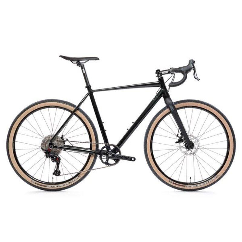 "State Bicycle Sate bicycle / black label Gravel Bike / 1 x 11 / bleu / 51cm (5'6 - 5'10"")"
