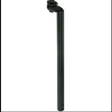 Babac, tige de selle 27.2/400mm alliage noir avec collet