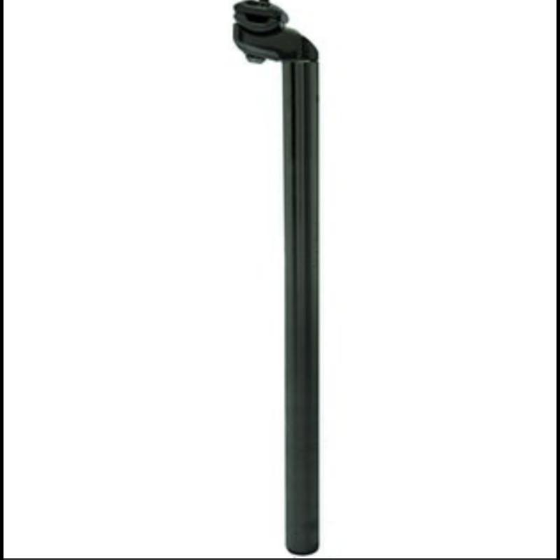 Babac, tige de selle 27.0/400mm alliage noir avec collet