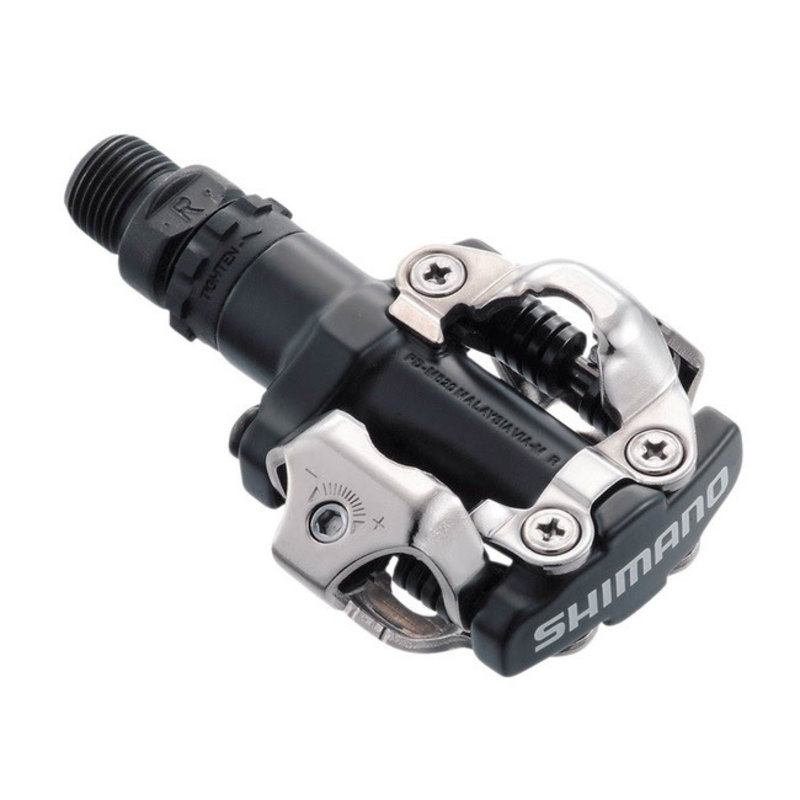 Shimano Pedals - Shimano PD-M520L SPD - MTB - 380g - with SM-SH51 Cleats - Black