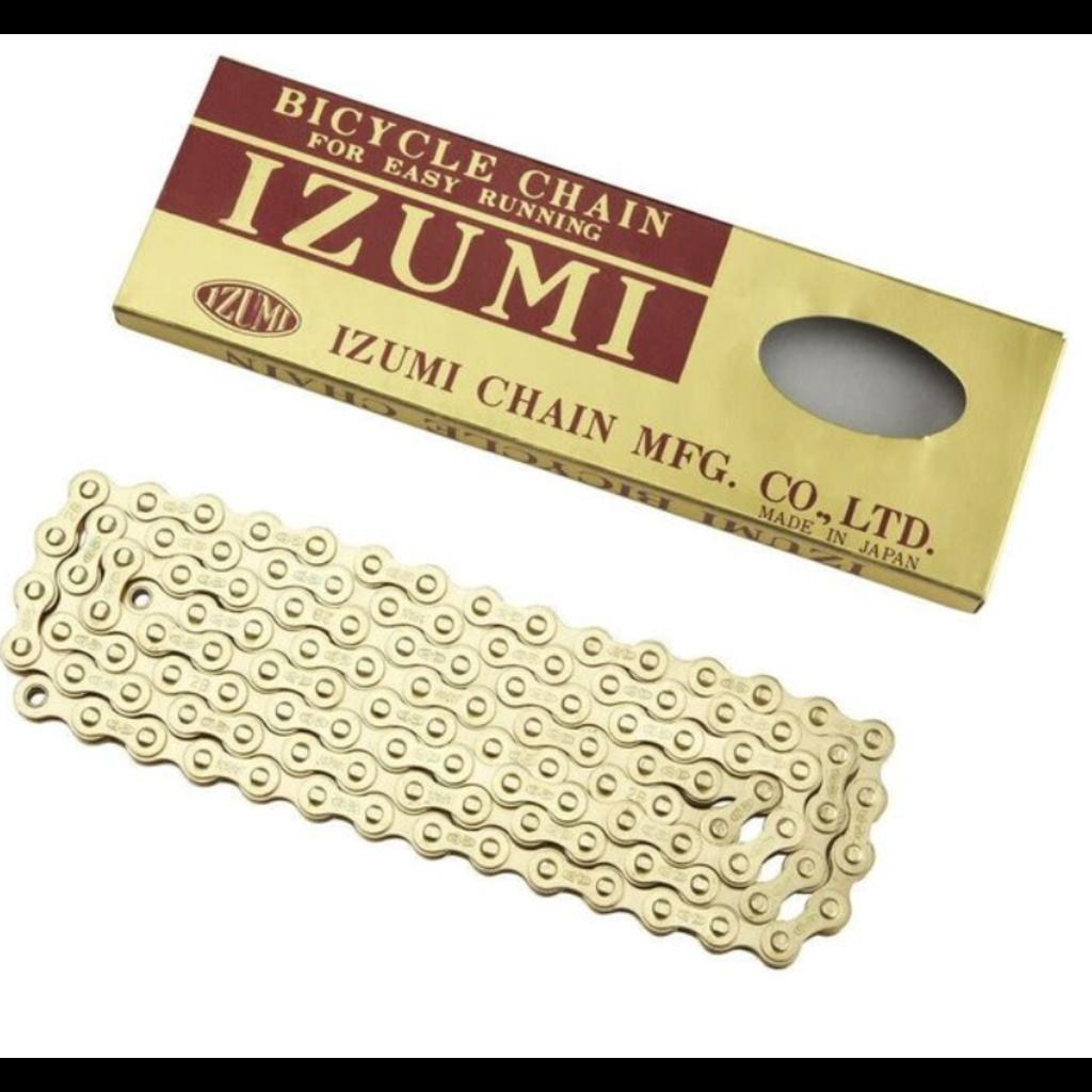 Izumi, Chaine 1 vitesse, 116 maillonts, 1/2 x 1/8, OR