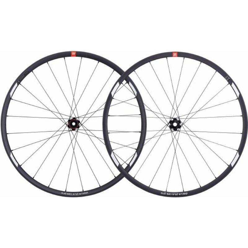 3T 3T - Paire Roue - Discus Plus C25 Pro - 27.5 - 10/11v -24T - Noir