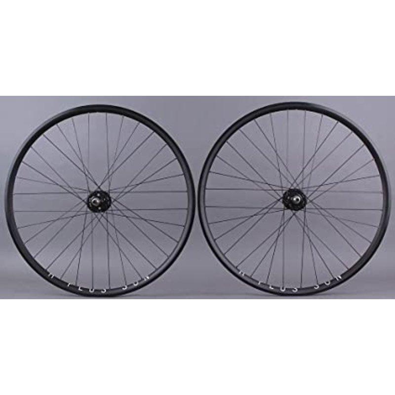 H PLUS SON Archetype / Back Wheel/ Formula hubs - 700 Fix - 32/32T - Black