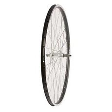 27 x 1-1/4 Rear Freewheel - Damco - MenJoin Black Hub - 36 Spokes - Black & Silver