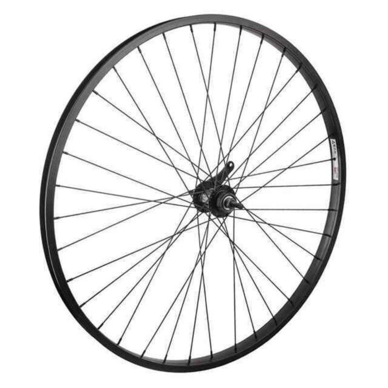 700 Arrière Coaster - Babac - pour 28-35 pneus - Shimano moyeux - 36 Rayons - Noir & Argent