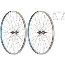 49N 26 x 1-3/8 (ISO590) Front - 49N - 36 Spokes - Silver