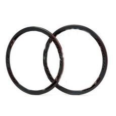 Miche Vuelta - Wheelset - Miche Primato silver hub  - 700 fix - 42mm - 32T - Black & Silver