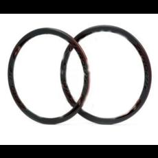 Miche Vuelta - Wheel set - Hub Miche Primato - 700 fix - 42mm - 32T - Black & Silver
