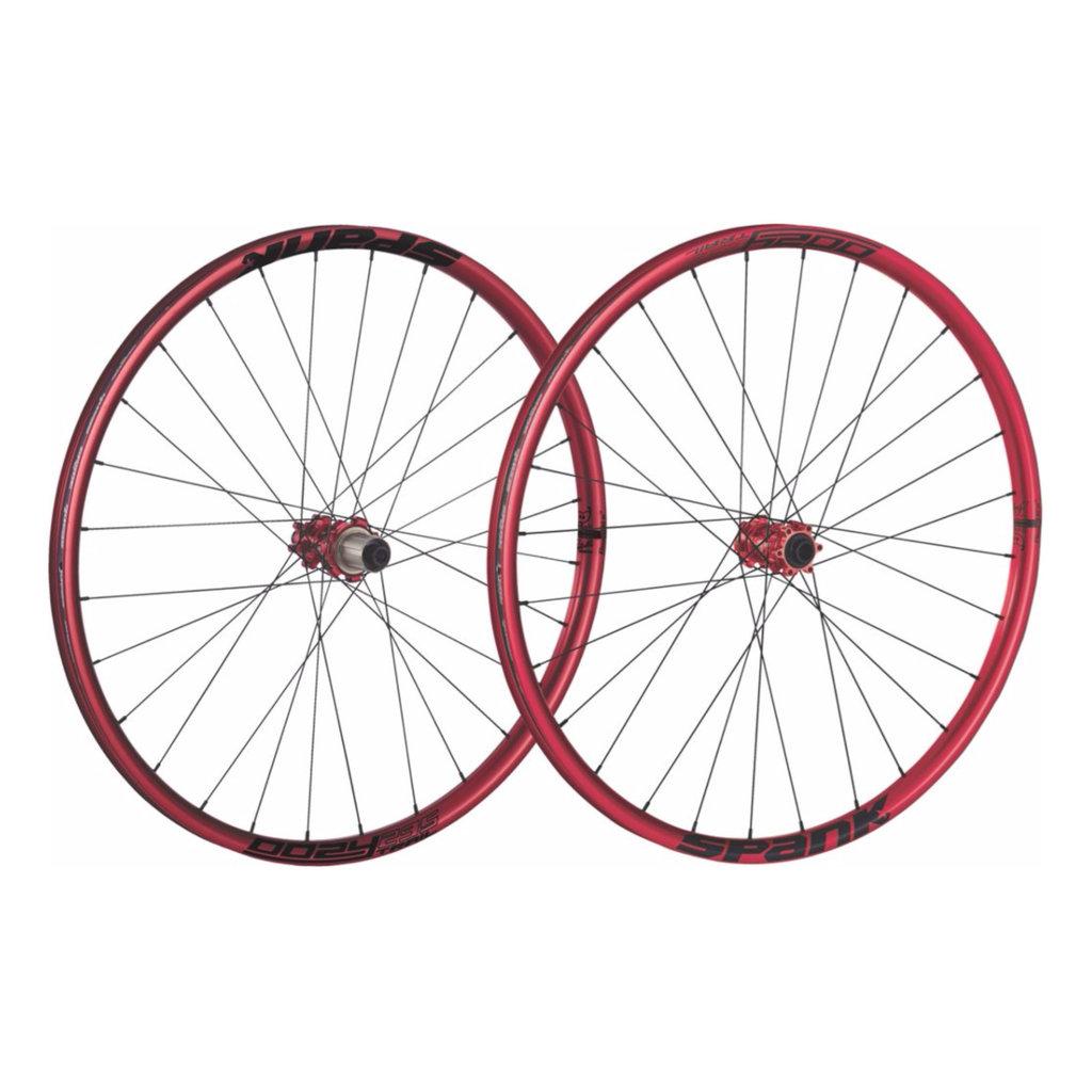 Spank - Wheel Set - 27.5 - SPKS S - R28 275 135/10 - Red