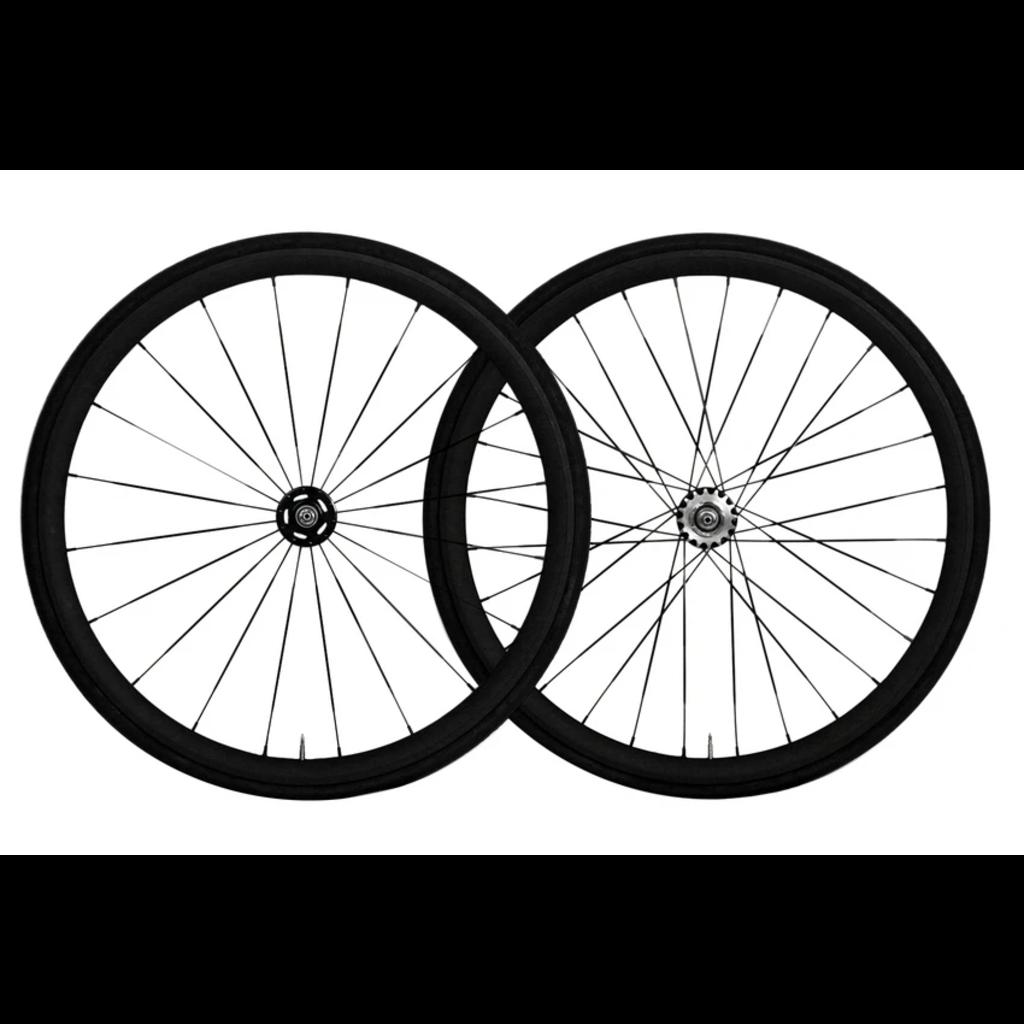 Vuelta - FRONT Wheel - AllDay BR - 700 Fix - 42mm - 32T - Black
