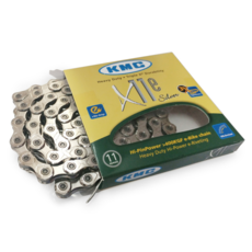 Kmc, Chain 11 speed, X11e, 126 links, Silver