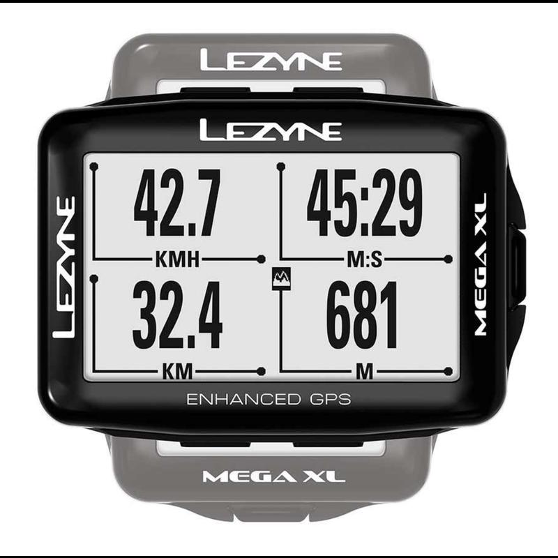 Lezyne Lezyne, Mega XL Smart Loaded, Cyclomètre, Noir