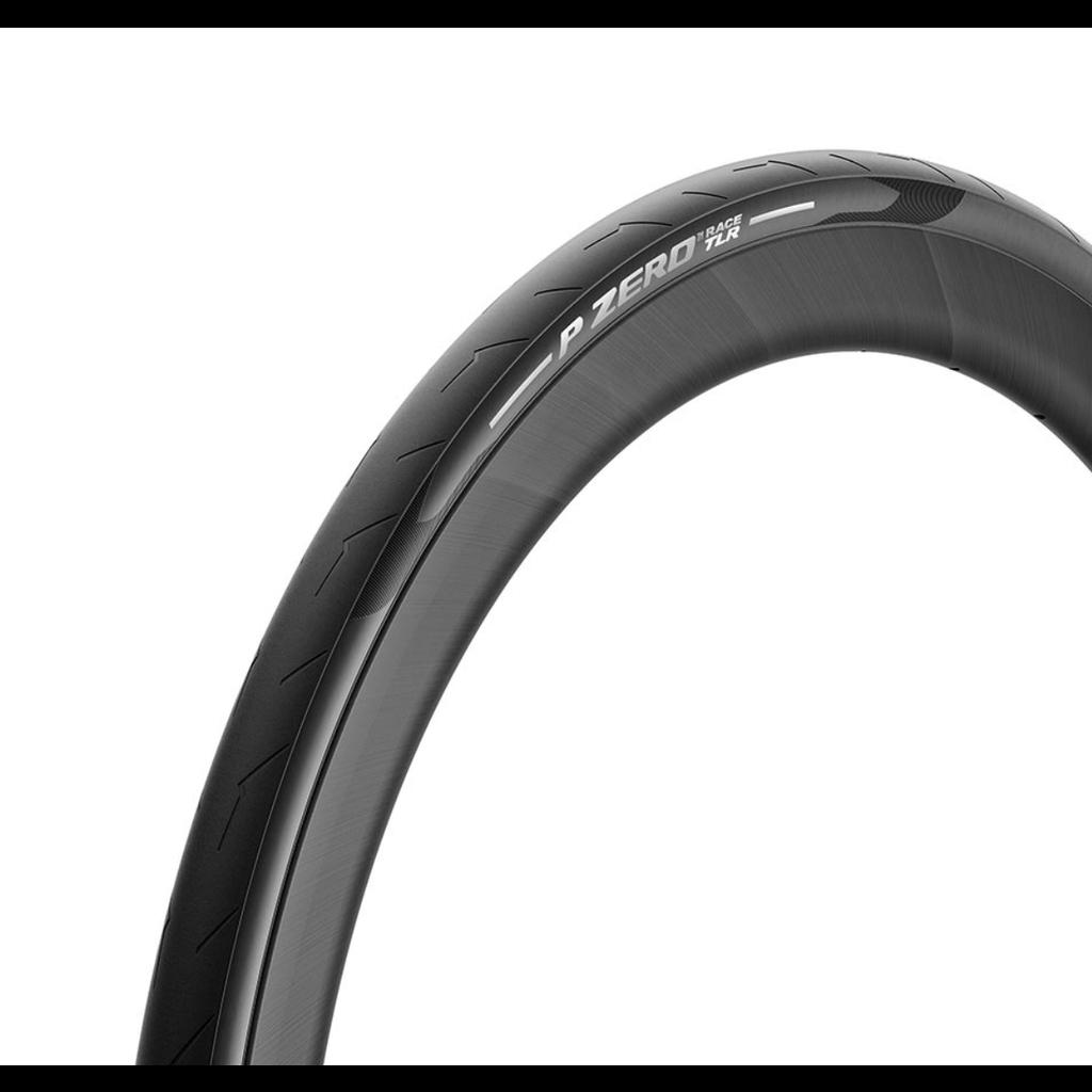 Pirelli Pirelli, PZero Race TLR, Tire, 700x26C, Folding, Tubeless Ready, SmartEVO, TechWALL+, 120TPI, Black