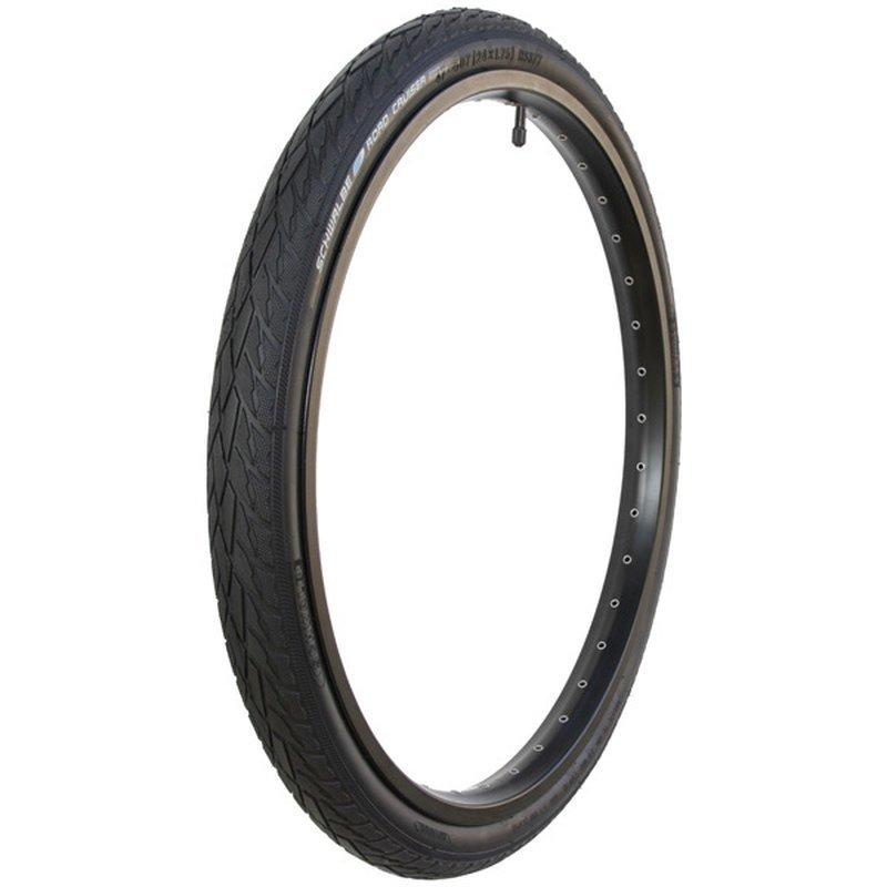 Schwalbe Tire - 24 x 1.75 - Schwalbe Road Cruiser - 50 TPI, 680 g