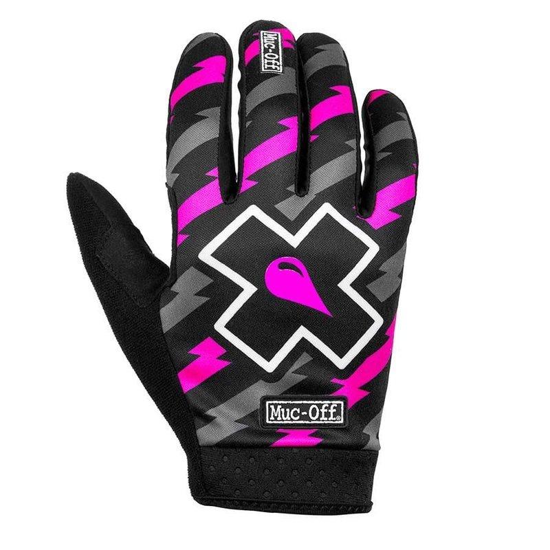Muc-Off Muc-Off, MTB Ride, Full Finger Gloves, Unisex, Bolt, M, Pair