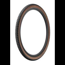 Pirelli Pirelli, Cinturato Gravel M, Tire, 700x40C, Folding, Tubeless Ready, SpeedGrip, 127TPI, Tanwall