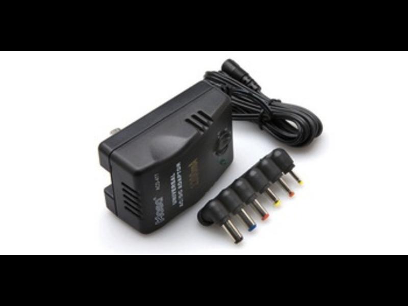 Hosa Universal AC Adapter Selectable VDC 1.2A