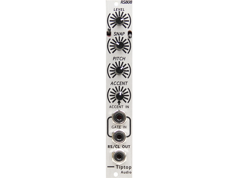 Tiptop Audio RS808, Silver Panel