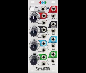 4ms QCD (Quad Clock Distributor)