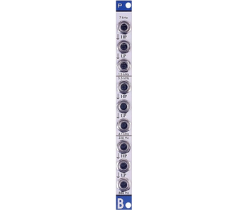Bastl Instruments Propust Triple Passive Filter - ALU