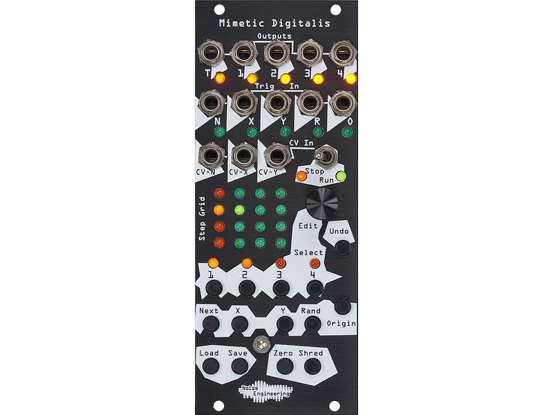 Noise Engineering Mimetic Digitalis, BLACK