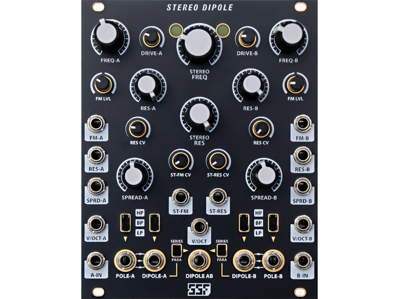 Steady State Fate Stereo Dipole, BLACK