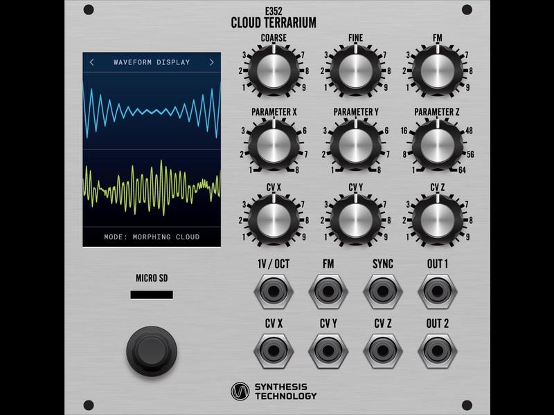Synthesis Technology E352 Cloud Terrarium, Silver