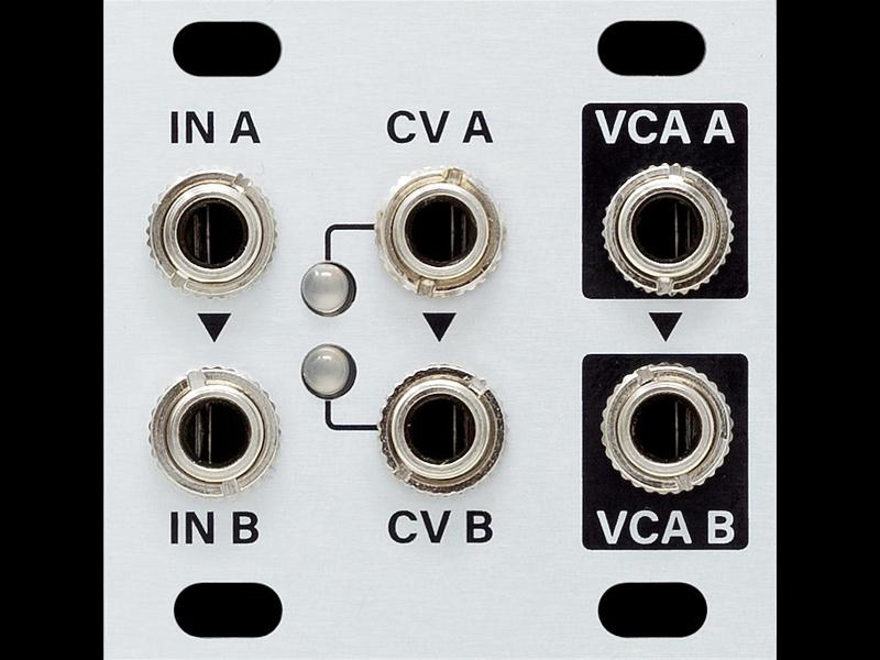 Intellijel Dual VCA_1U