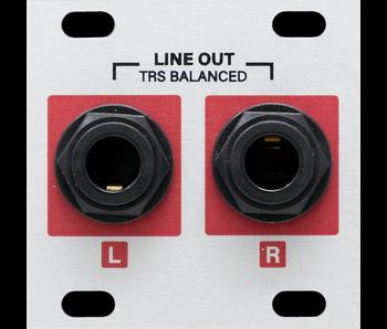 Intellijel Stereo Line Out JACKS_1U