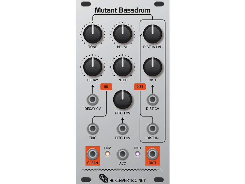 Hexinverter Électronique Mutant Bassdrum
