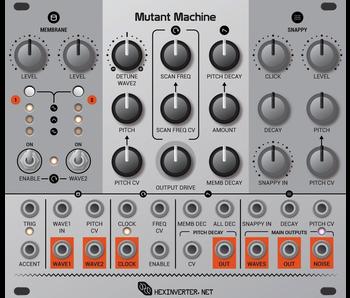 Hexinverter Électronique Mutant Machine