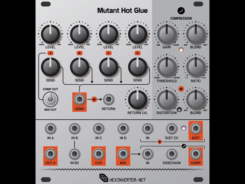 Hexinverter Électronique Mutant Hot Glue