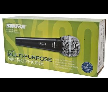 Shure SV100-W, Mic w/ XLR Cable