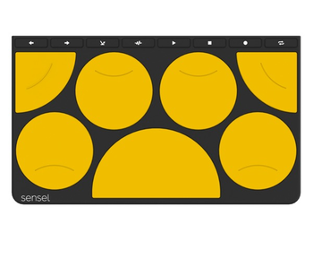Sensel Drum Pad Overlay