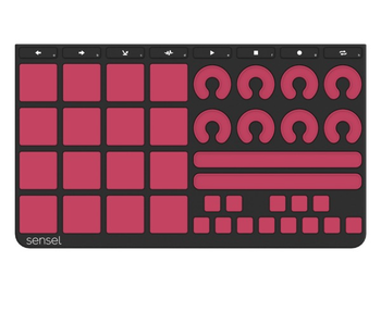 Sensel Music Production Overlay