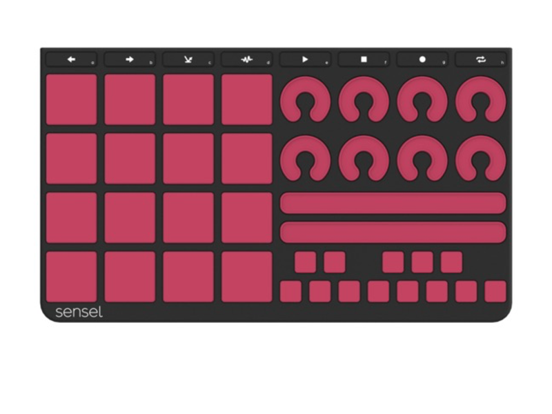 Sensel Music Production Overlay