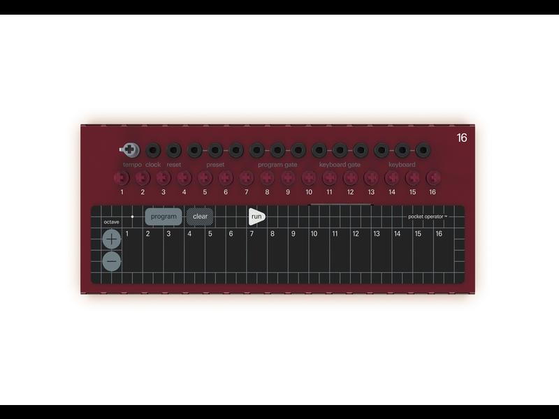 Teenage Engineering Pocket Operator Modular 16