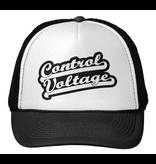Control Voltage Trucker Hat, Baseball Font